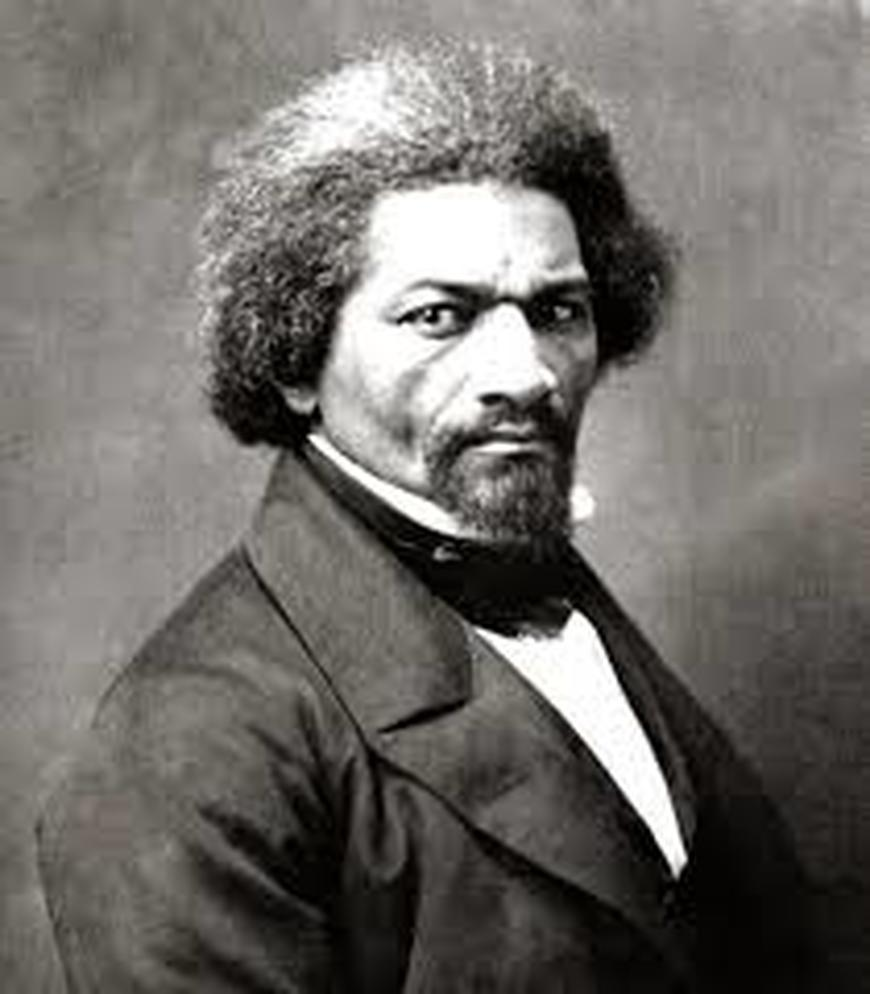 abolitionist Frederick Douglass  large