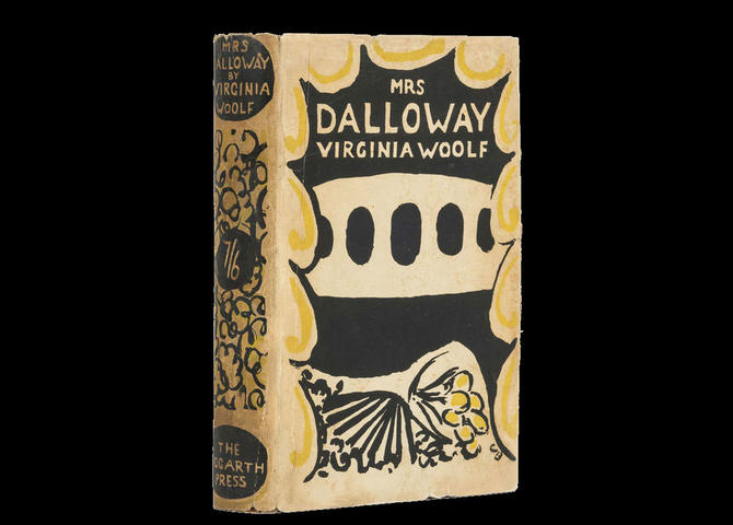 Novel Mrs. Dalloway  small
