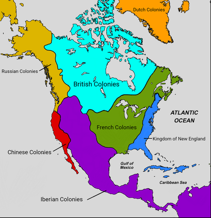 British Colonization of North America