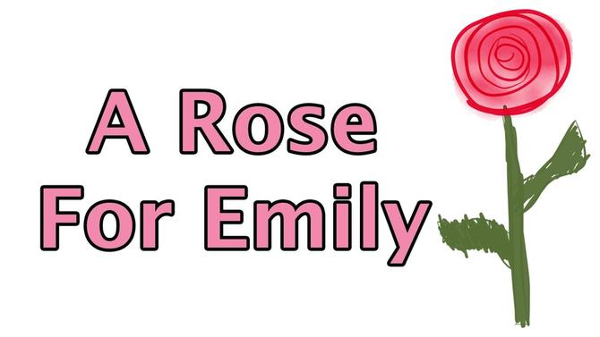 """Rose for Emily"" - William Faulkner medium"