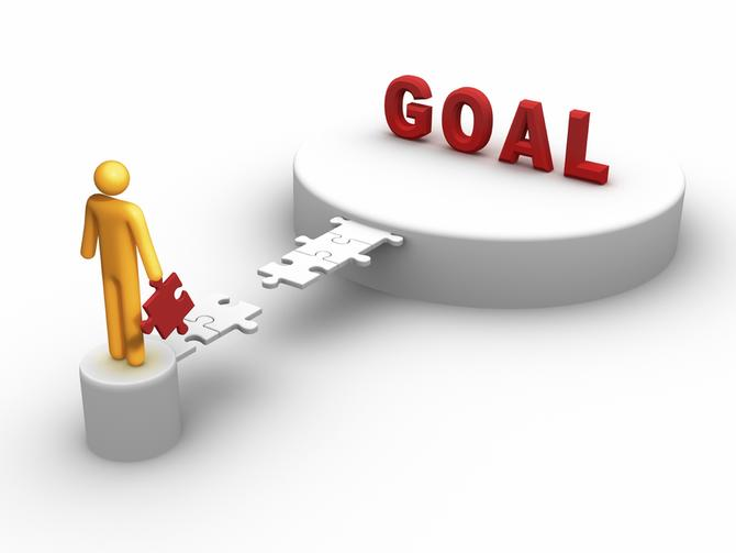 Setting and Achieving Goals small